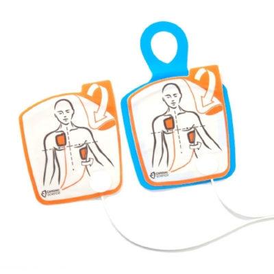 Electrodes de formation pour défibrillateur Cardiac-Science Powerheart G5