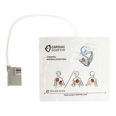 Electrodes pédiatriques pour défibrillateur Cardiac-Science Powerheart G5