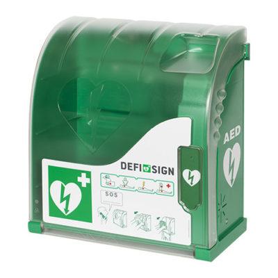 Coffret mural DefiSign AIVIA-100 pour défibrillateur