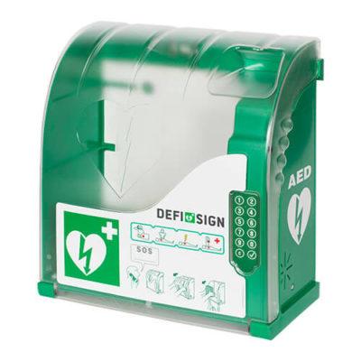 Coffret mural DefiSign AIVIA-210 pour défibrillateur