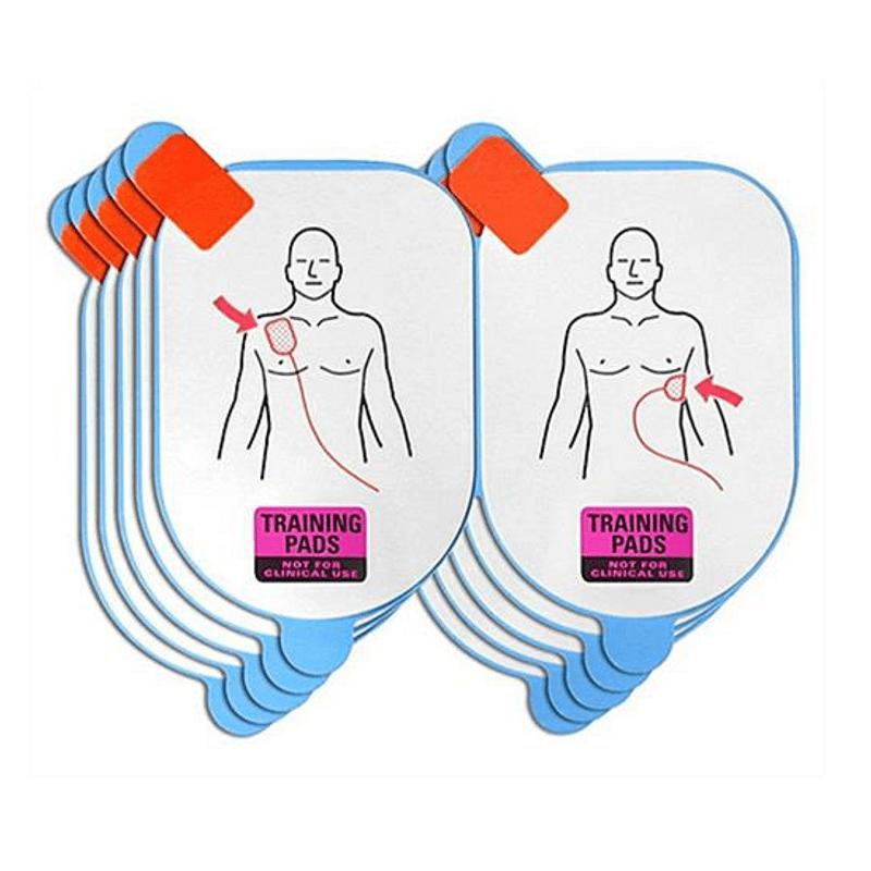 Electrodes de formation pour défibrillateur Defibtech Lifeline