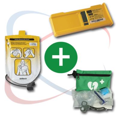 Kit pour défibrillateur Defibtech Lifeline
