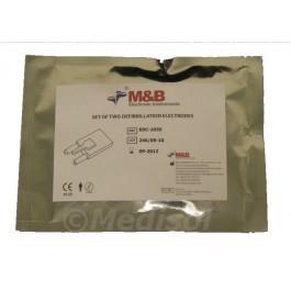 Electrodes pour défibrillateur M&B AED 7000