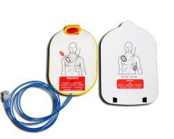 Electrodes de formation pour défibrillateur Philips Heartstart HS1