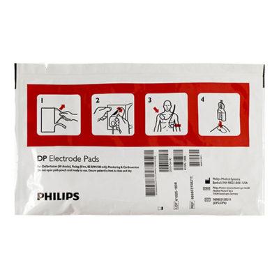 Electrodes pour défibrillateur Philips Heartstart FR2