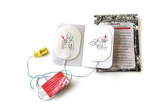 Electrodes de formation pour défibrillateur Philips Heartstart FR2