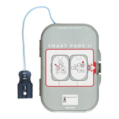 Electrodes pour défibrillateur Philips Heartstart FRX PADS II