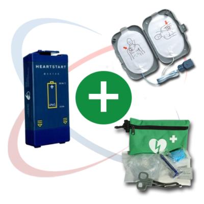 Kit pour défibrillateur Philips Heartstart FRX