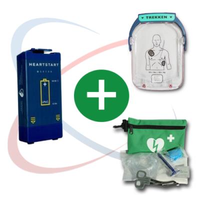 Kit pour défibrillateur Philips Heartstart HS1