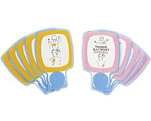 Patch d'électrodes pédiatriques de formation pour défibrillateur Physio-Control LifePack CR