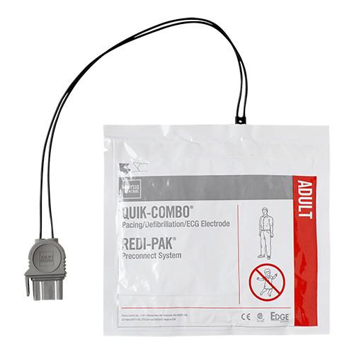 Electrodes pour défibrillateur Quick Combo Physio-Control LifePack