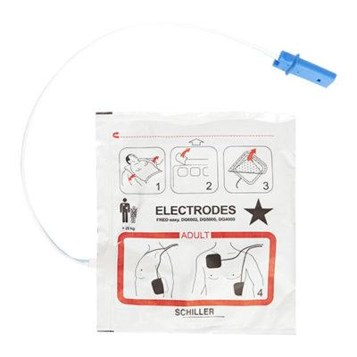 Electrodes pour défibrillateur Schiller Fred Easy Life
