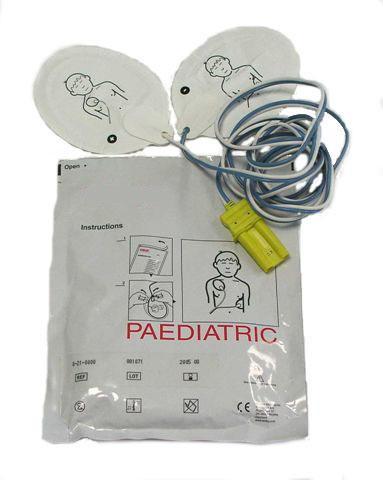 Electrodes pédiatriques pour défibrillateur Schiller Fred EasyPort
