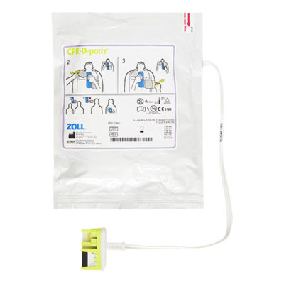 Electrodes pour défibrillateur Zoll AED CPRD