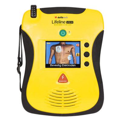 defibrillateur Defibtech Lifeline View semi-automatique