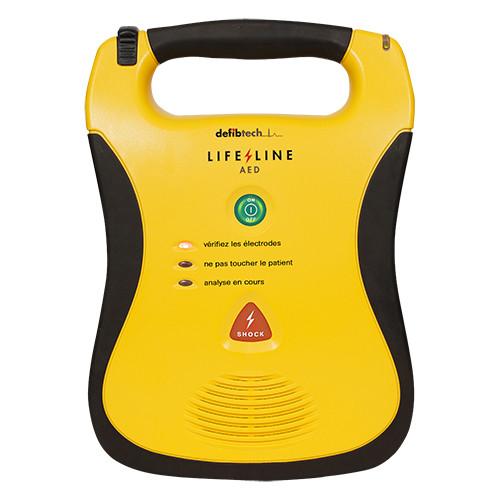 Défibrillateur Defibtech Lifeline semi-automatique