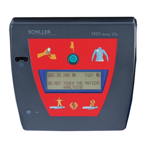 défibrillateur Schiller Fred Easy Life automatique
