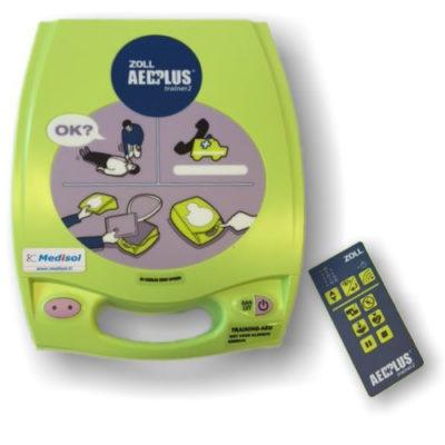 Descriptif défibrillateur de formation Zoll AED-PLUS automatique