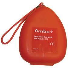 Masques protecteurs AMBU Res-Cue en étui semi-rigide