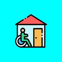 Structure d'accueil pour personnes âgées ou handicapés