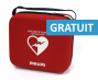 Sac défibrillateur Philips Heartstart HS1 semi-automatique