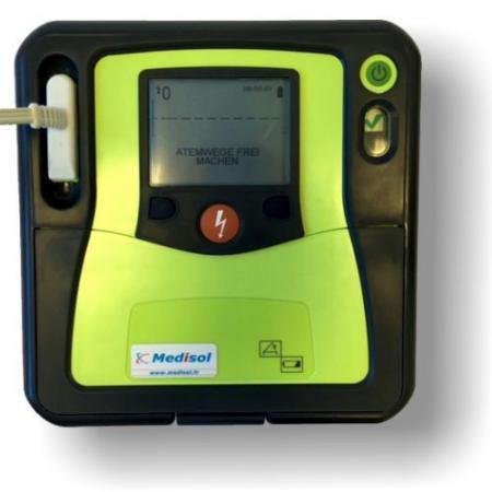 Descriptif défibrillateur Zoll AED-PRO semi-automatique
